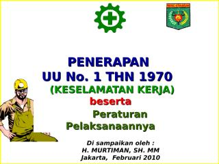UU No. 1 Tahun 1970 - Copy.ppt