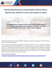 Grating Spectrometers Consumption Market Share, Market Size, Market Trends and Analysis to 2021.pdf