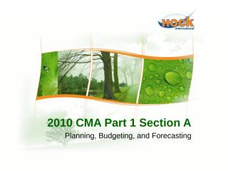 New CMA Part 1 Section A.pptx