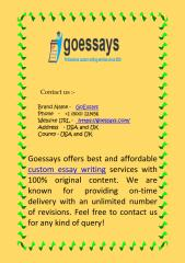 Affordable & Best Custom Essay Writing Services.pdf