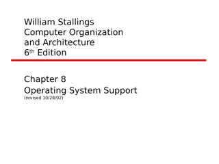OS support.ppt