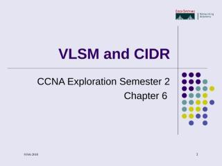 VLSMandCIDR-ch6.ppt