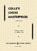 The Black Knight Press - Colle's Chess Masterpieces - Fred Reinfeld.pdf