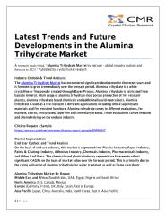 Latest Trends and Future Developments in the Alumina Trihydrate Market.pdf