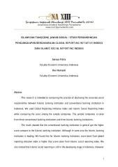 ISLAM DAN TANGGUNG JAWAB SOSIAL STUDI PERBANDINGAN PENGUNGKAPAN BERDASARKAN GLOBAL REPORTING INITIATIVE INDEKS DAN ISLAMIC SOCIAL REPORTING INDEKS.pdf