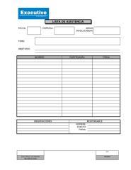 Formato de Lista de Asistencia.doc