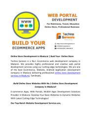 Online Store Development Company in Madurai .pdf