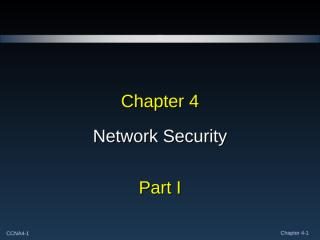 Expl_WAN_chapter_4_Security_Part_I.ppt