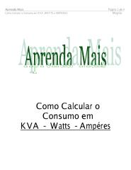 Como Calcular o Consumo em KVA ,WATTS e AMPERES.pdf