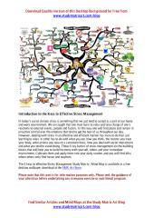 6 Keys to Effective Stress Management, Mind Map.pdf