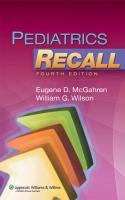 Pediatrics Recall 4th Edition.pdf