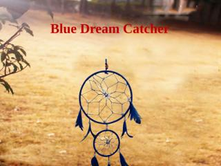 Divya Mantra Blue Dream Catcher .pptx