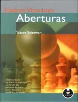 Xadrez Vitorioso - Aberturas - Yasser Seirawan.pdf