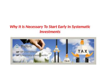 Why It Is Necessary To Start Early In.pptx