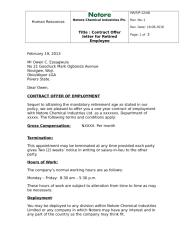 Contract offer letter for Retired employee.docx