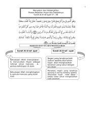 surah al-a'raf ayat 57 -58 menyakini hari kebangkitan.doc